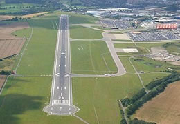 Luton Airport from Above